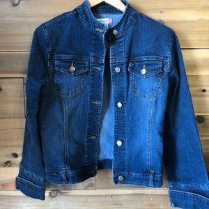 Kali wear jean jacket